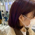 髪がキレイに見えるカラー◎ラベンダーベージュ